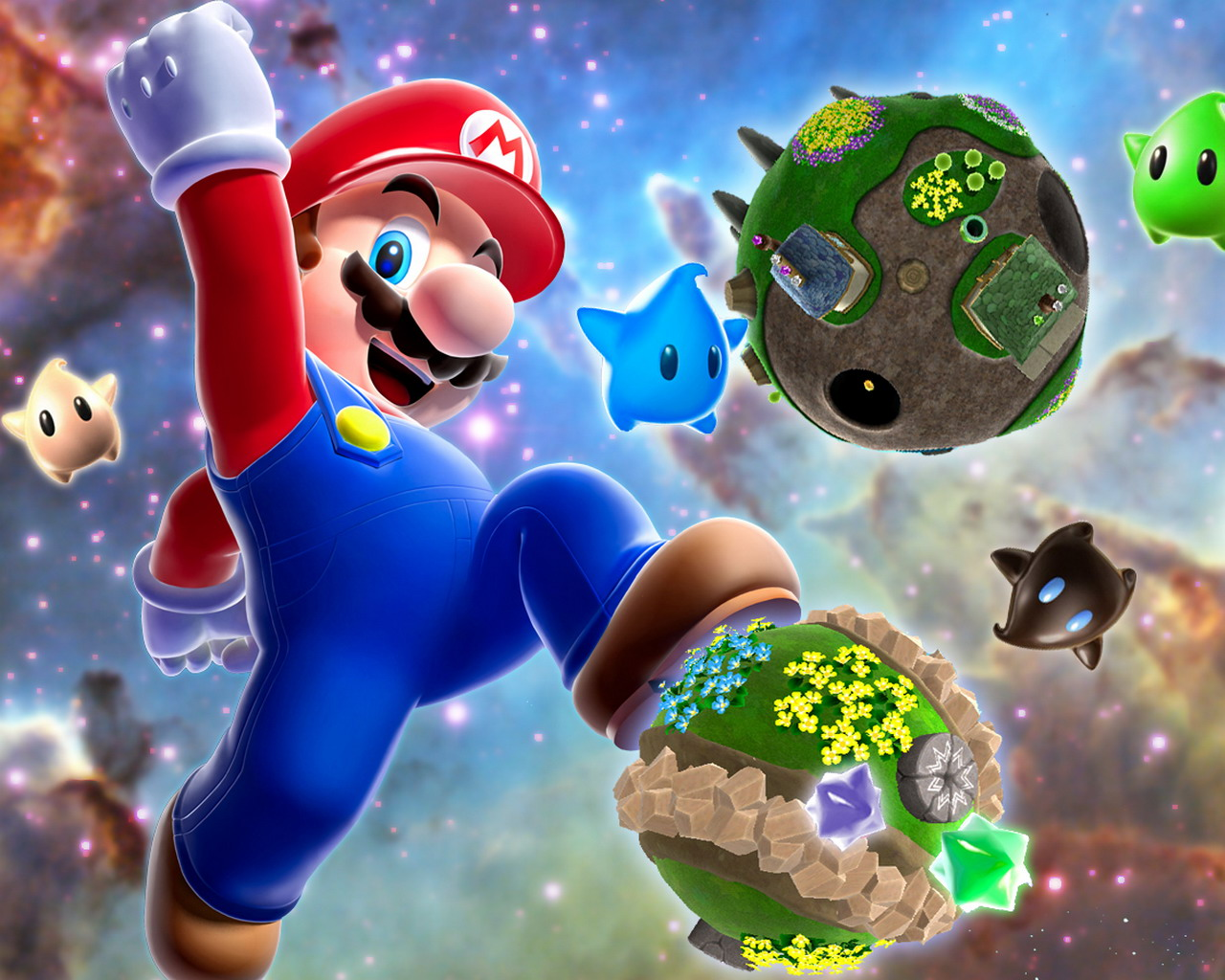 Mario Galaxy Game 453.71 Kb
