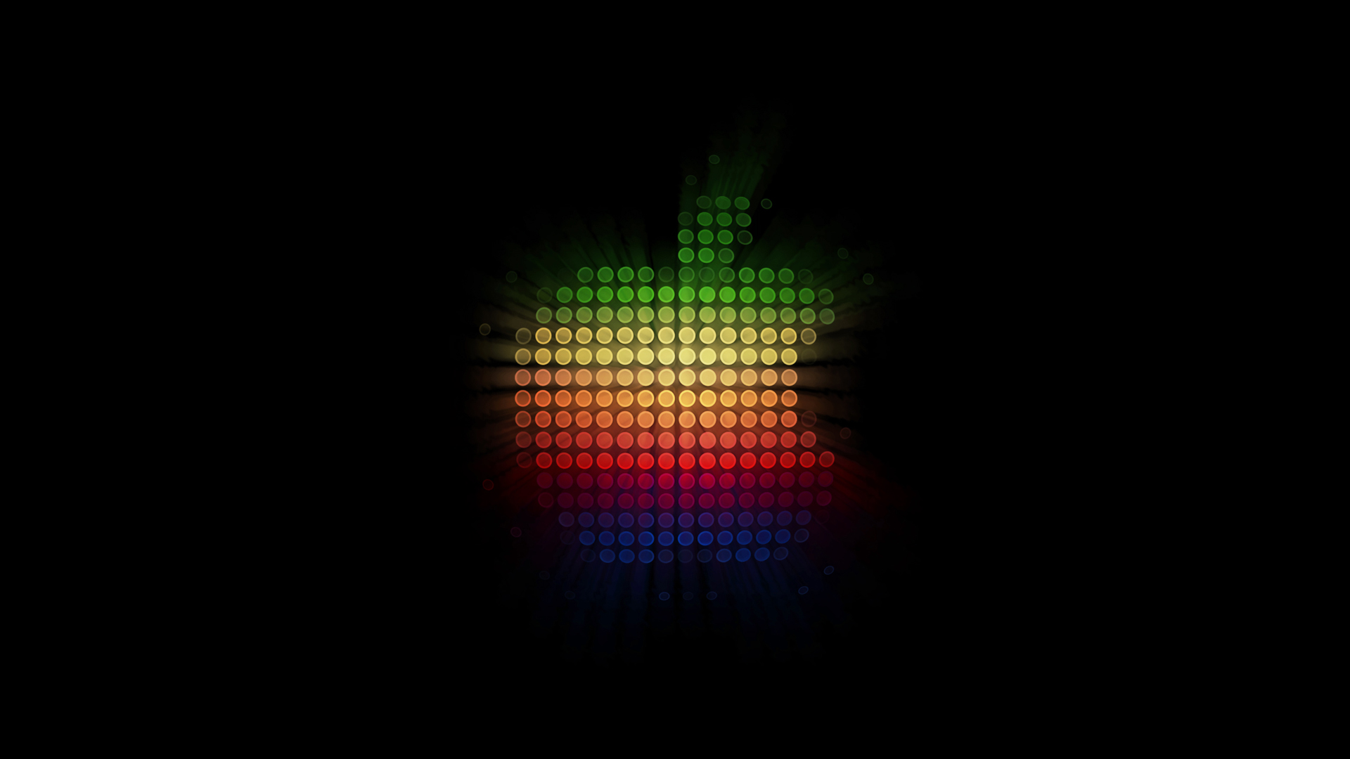 Glowing Lights Apple