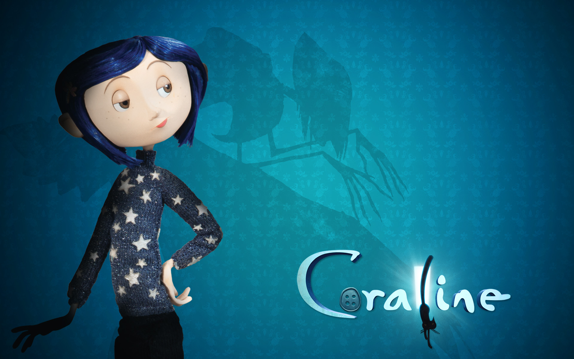 Dakota Fanning in Coraline 1008.53 Kb