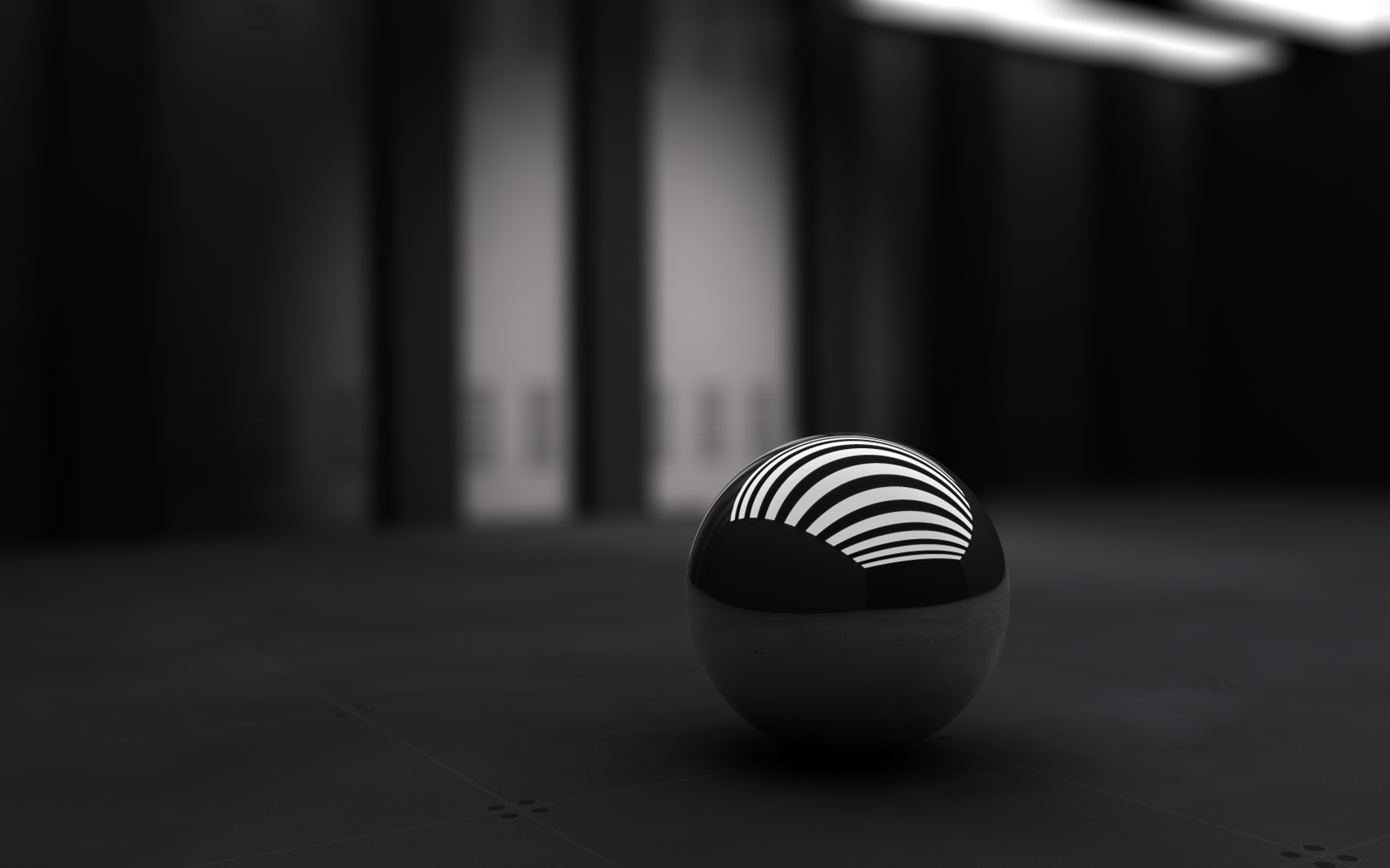 3D Black Ball 1659.36 Kb