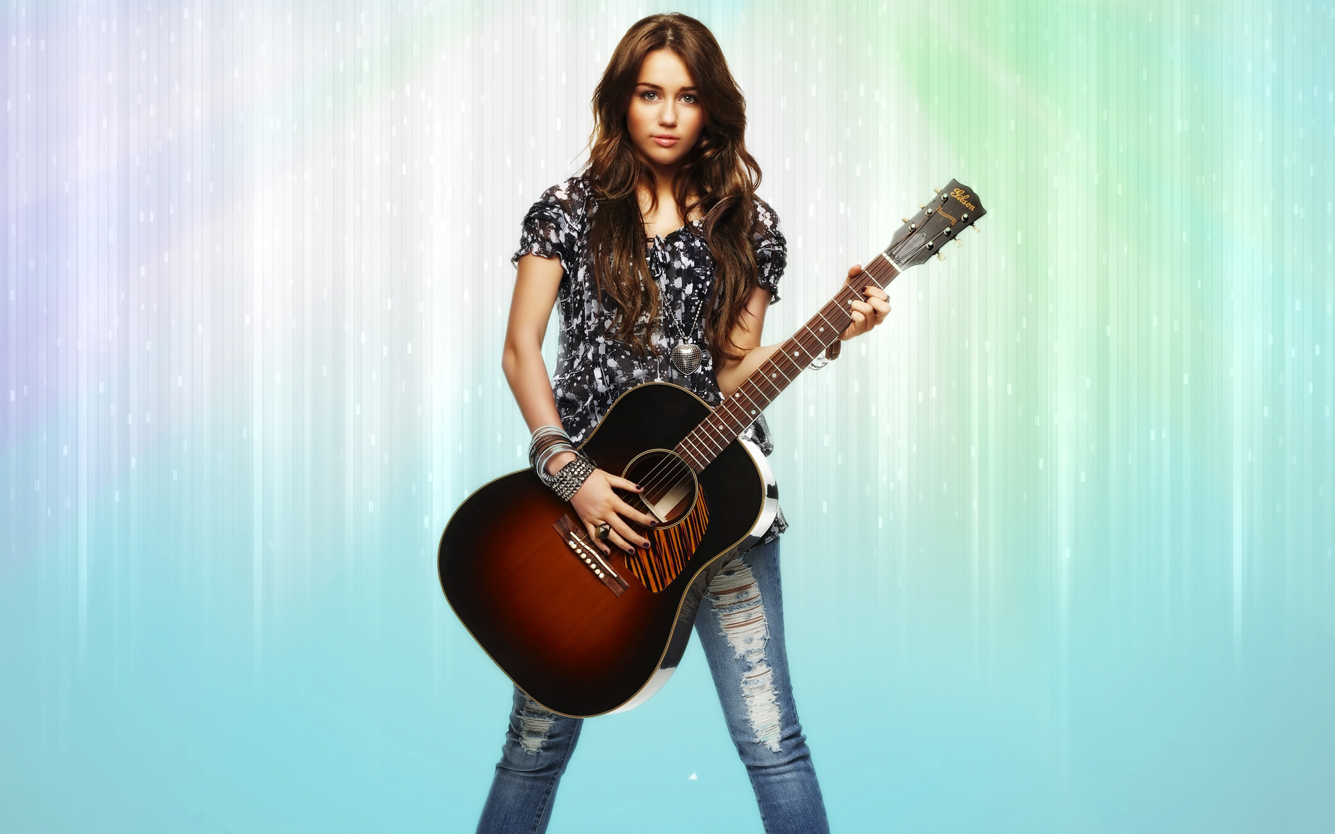 Miley Cyrus & Guitor 271.31 Kb