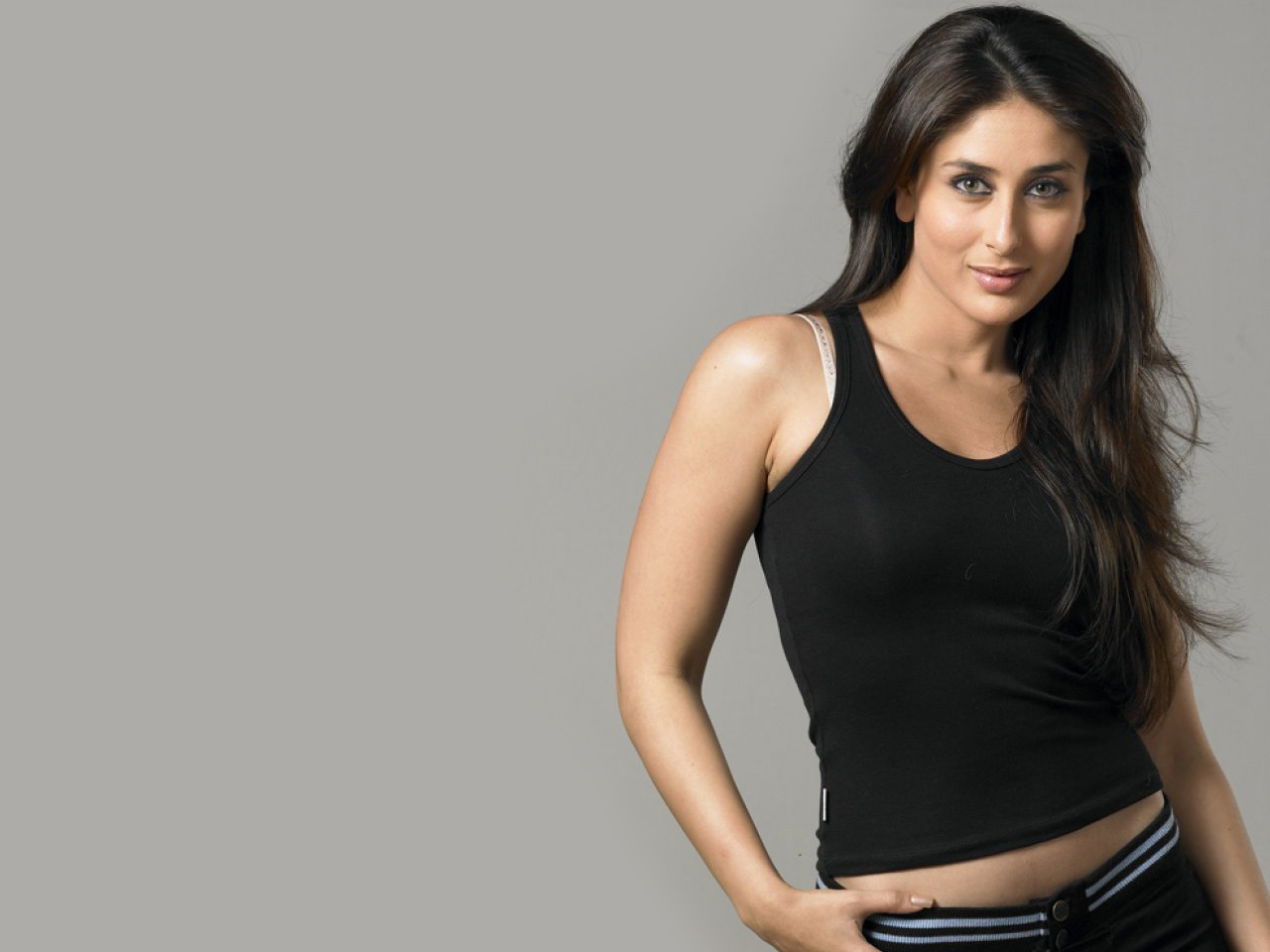 Kareena Kapoor Black Transparent