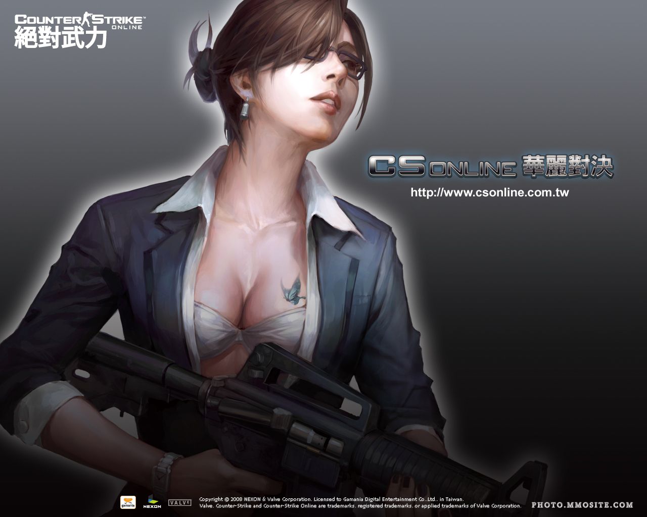 Hot CS Online Female Character