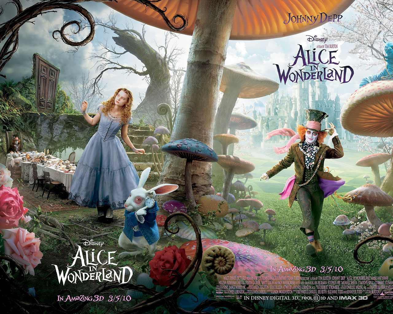 Alice in Wonderland Movie 490.17 Kb