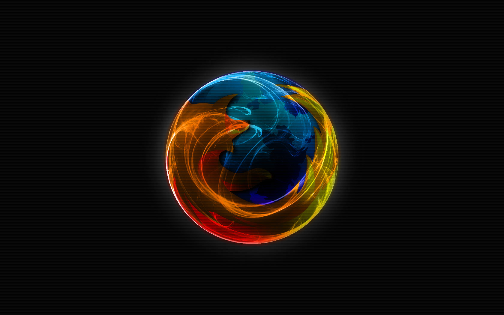 Firefox Dark Widescreen