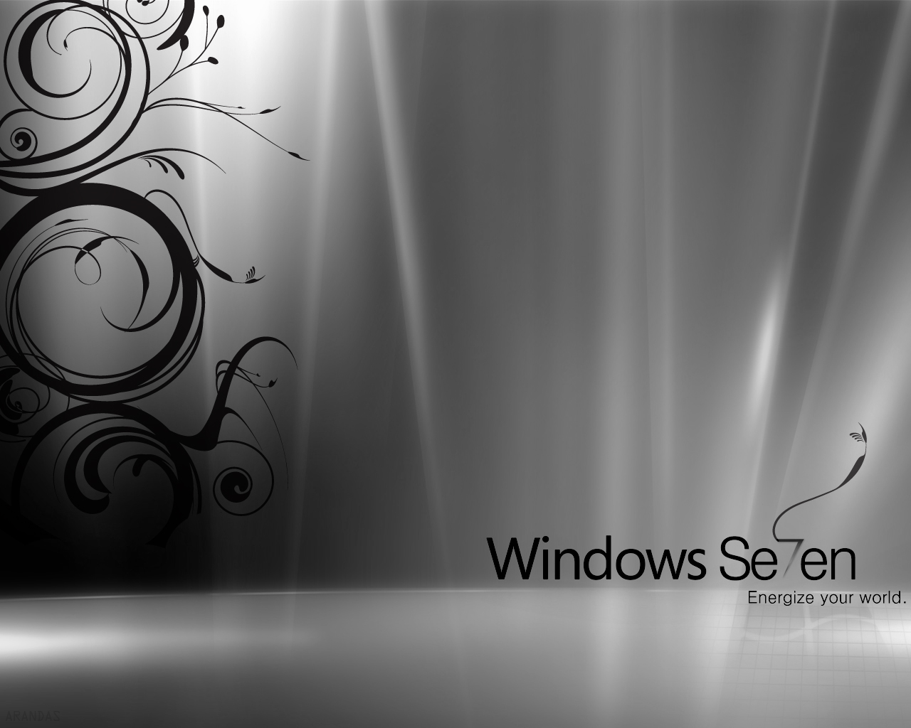 Windows 7 Black & White