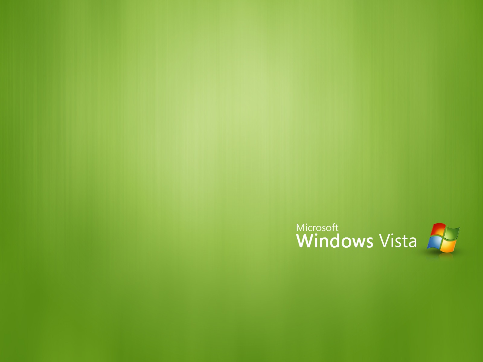 Green Windows Vista 185.57 Kb