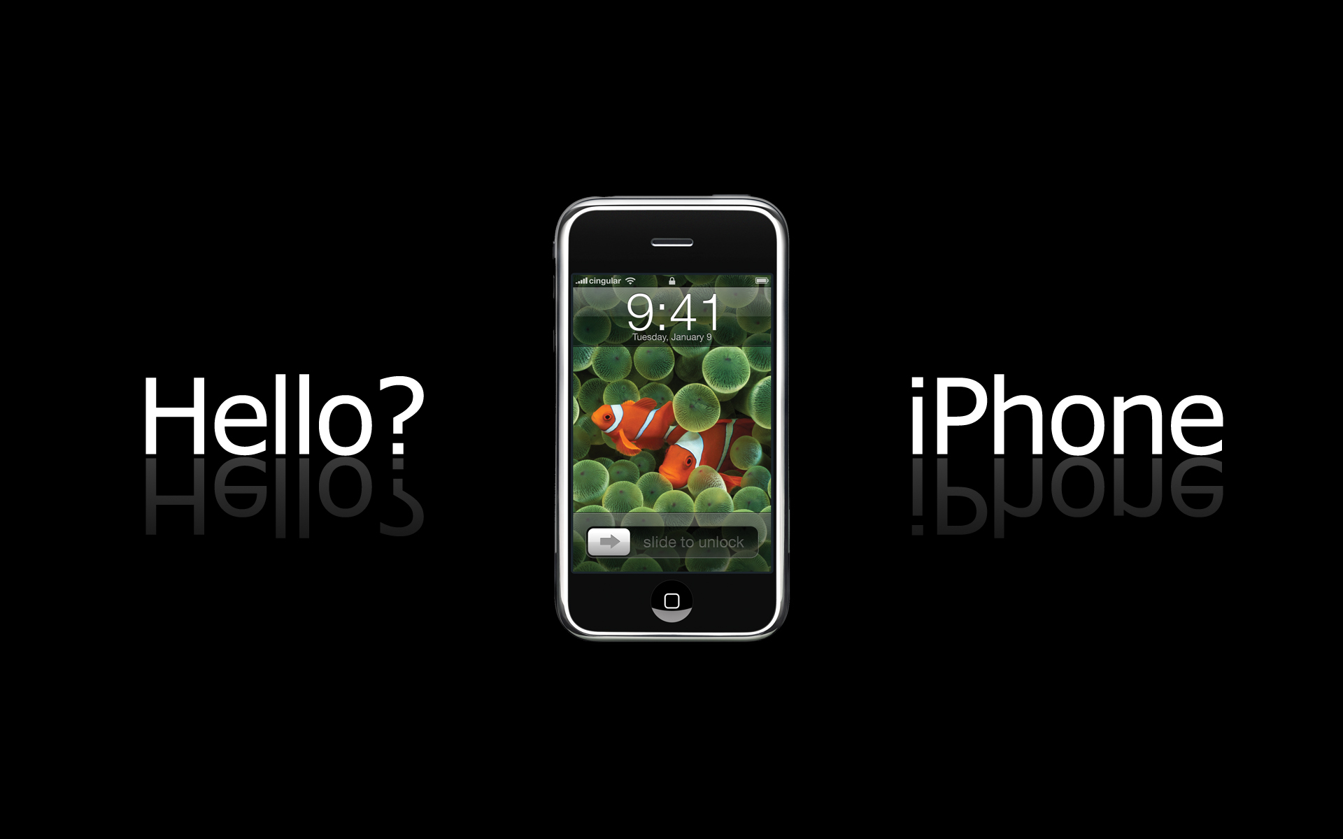Hello iPhone Widescreen 171.41 Kb