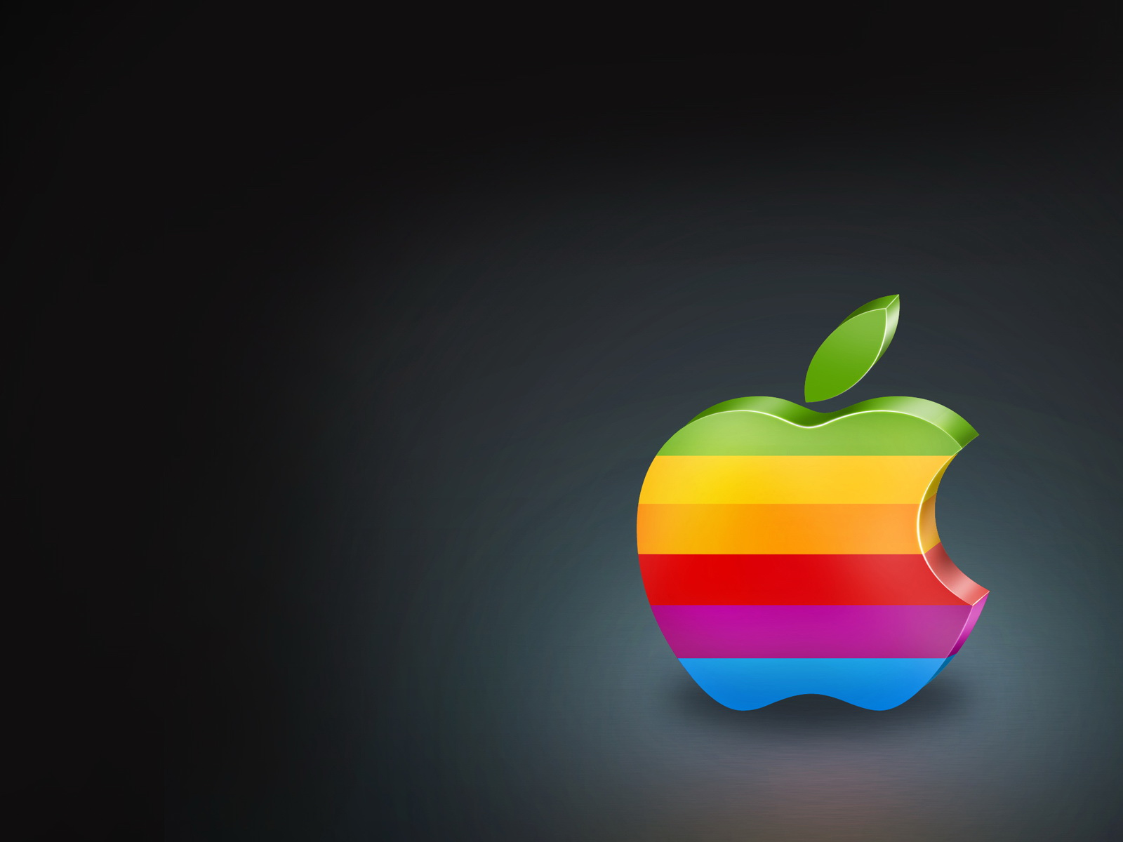 Colorful Apple Logo 762.36 Kb