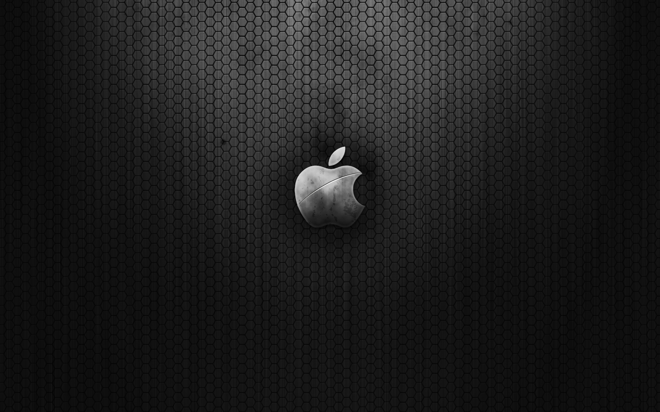 Dark Metal Apple