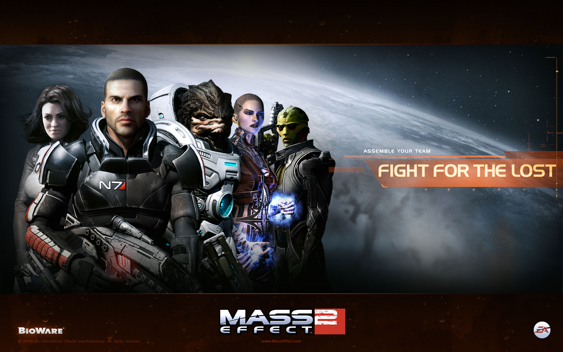 Mass Effect 2 Widescreen