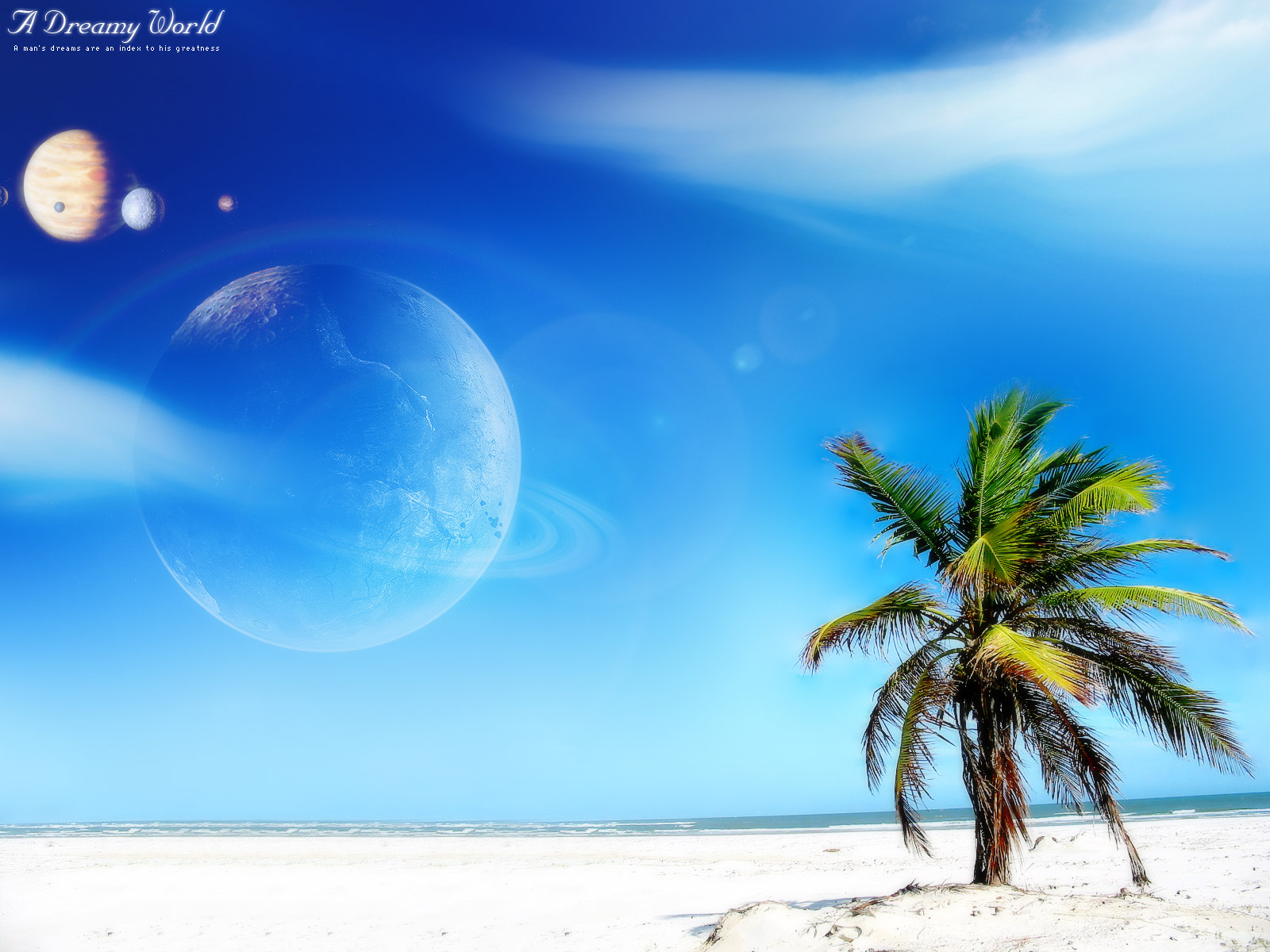 Beach Dreamy World