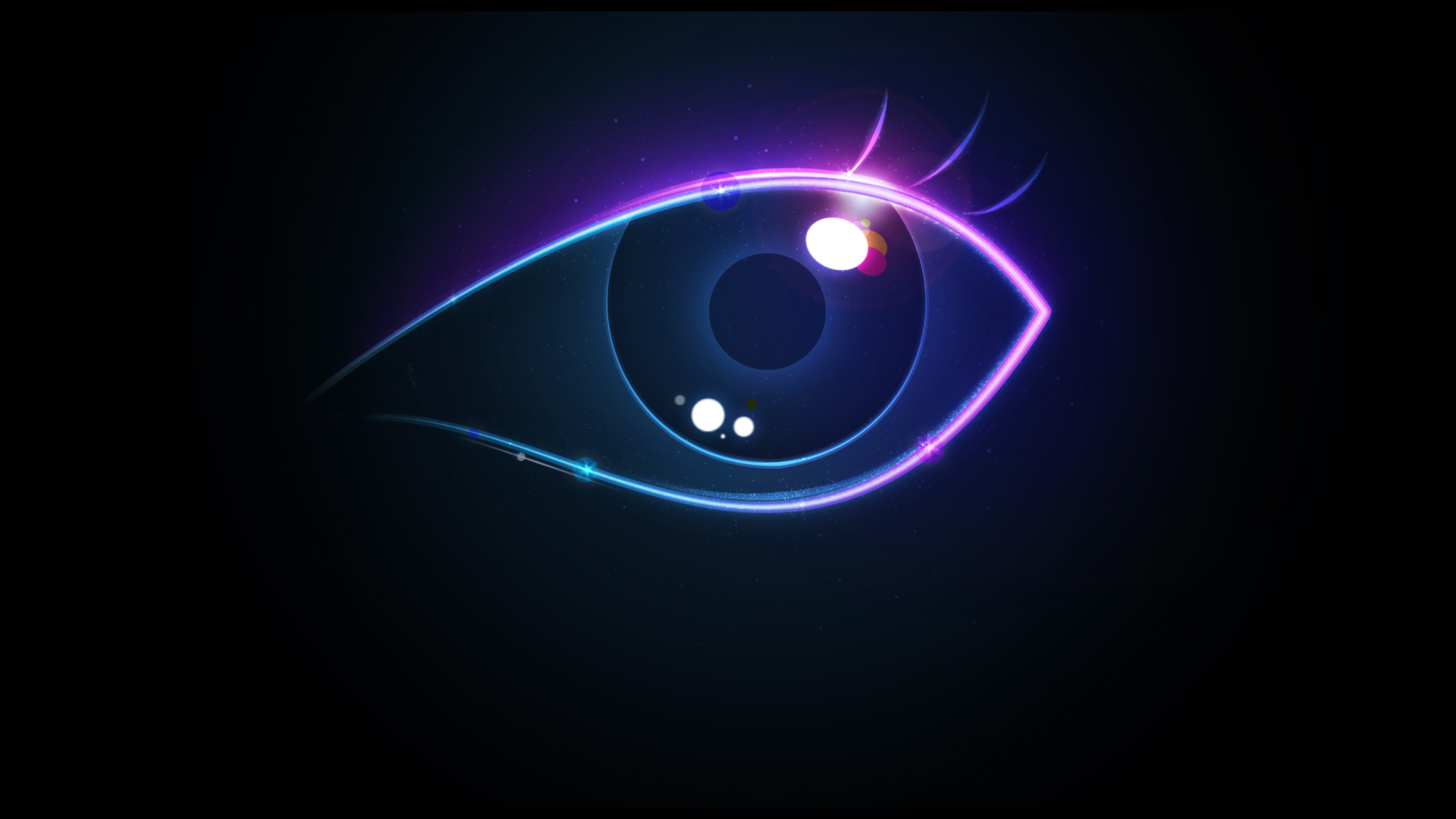 Creative Colorful Eye 888.07 Kb