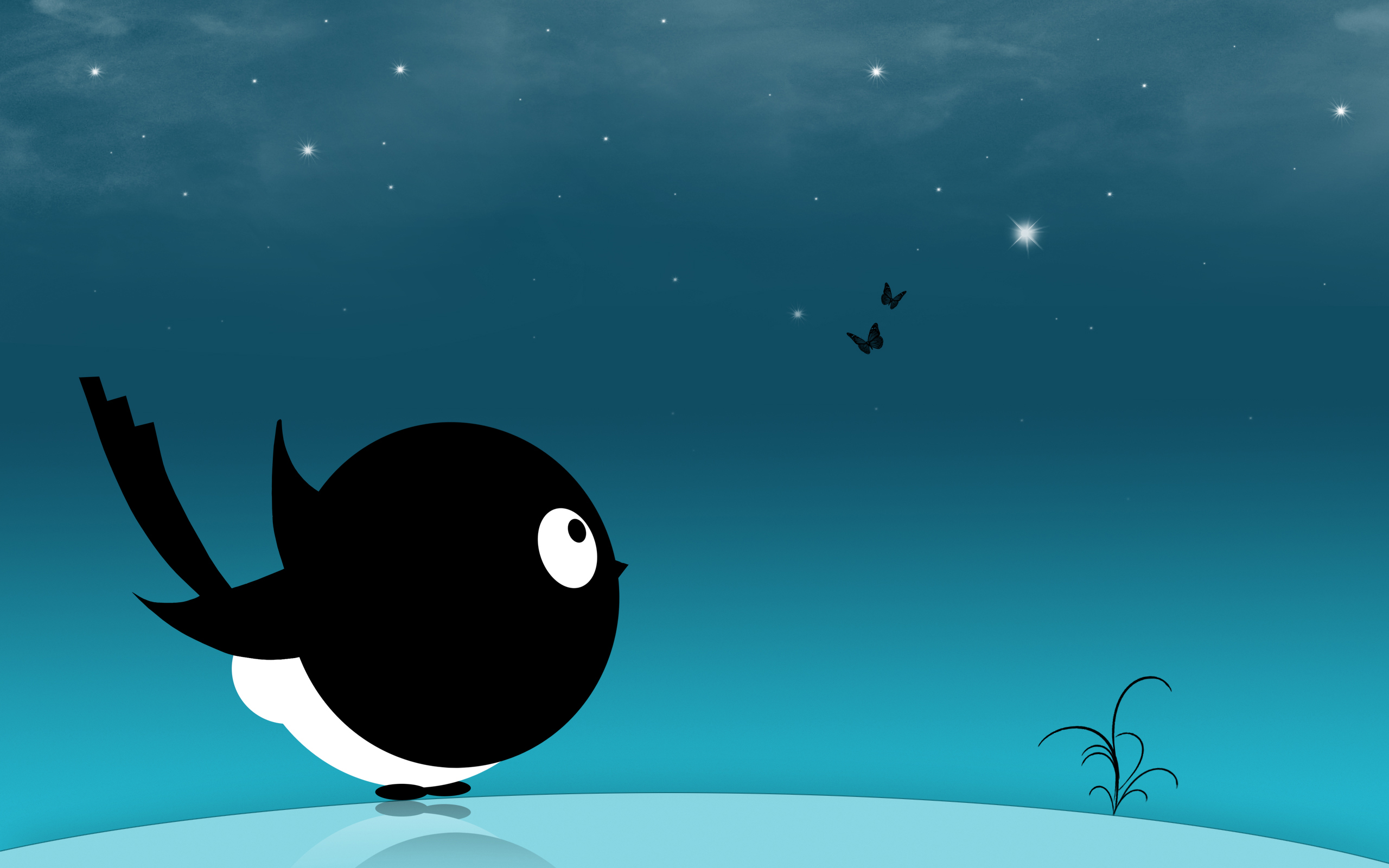 Creative Black Bird HD