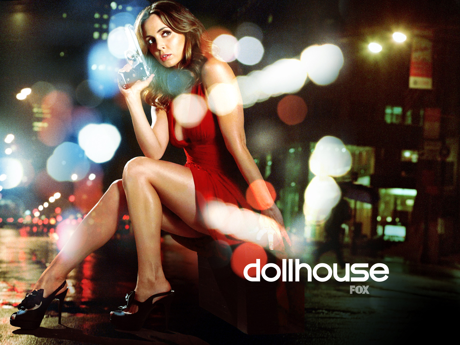 Eliza Dushku in Dollhouse TV Series 2010