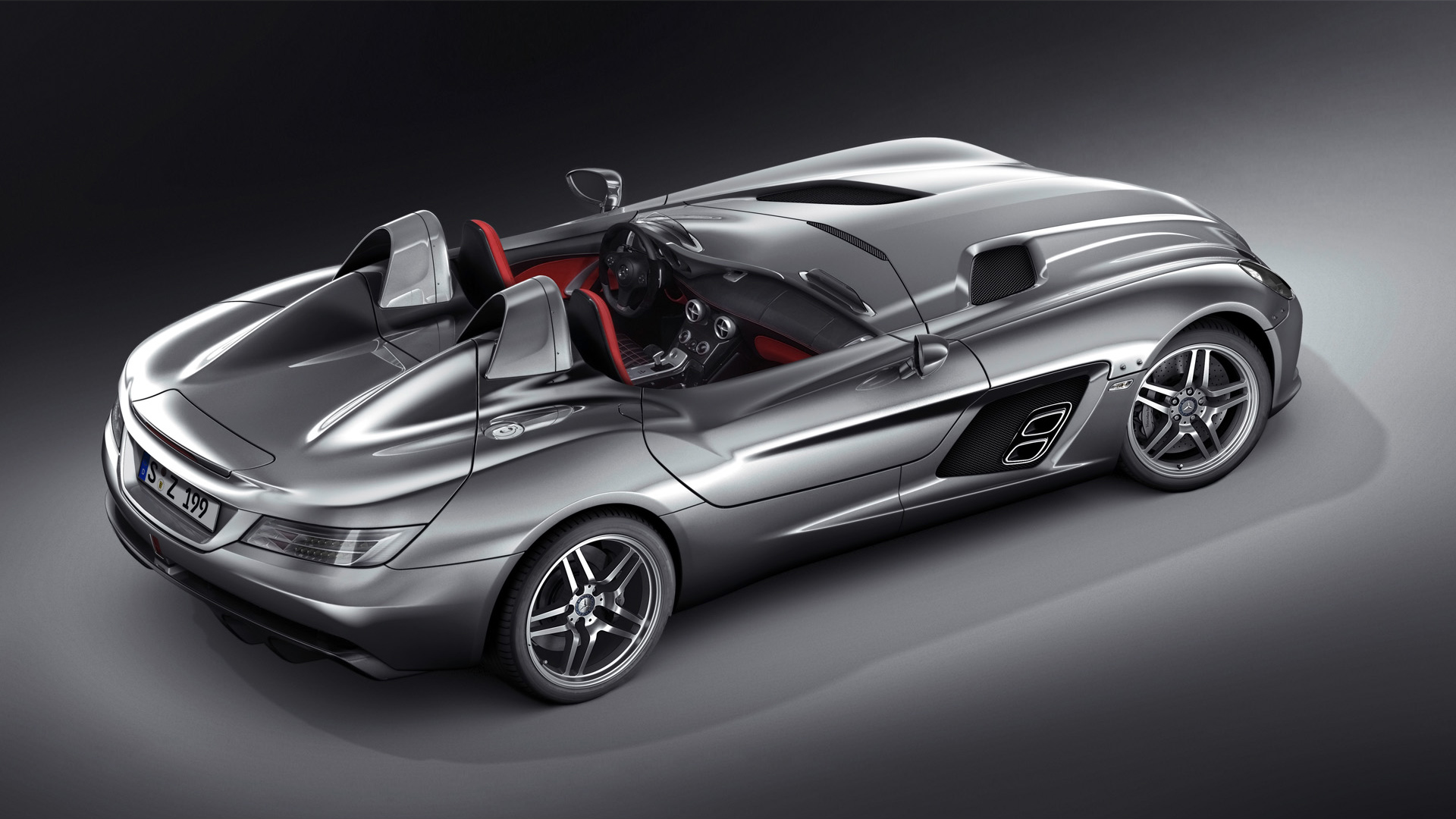 Mercedes Benz SLR McLaren Stirling Moss 1080p 568.4 Kb