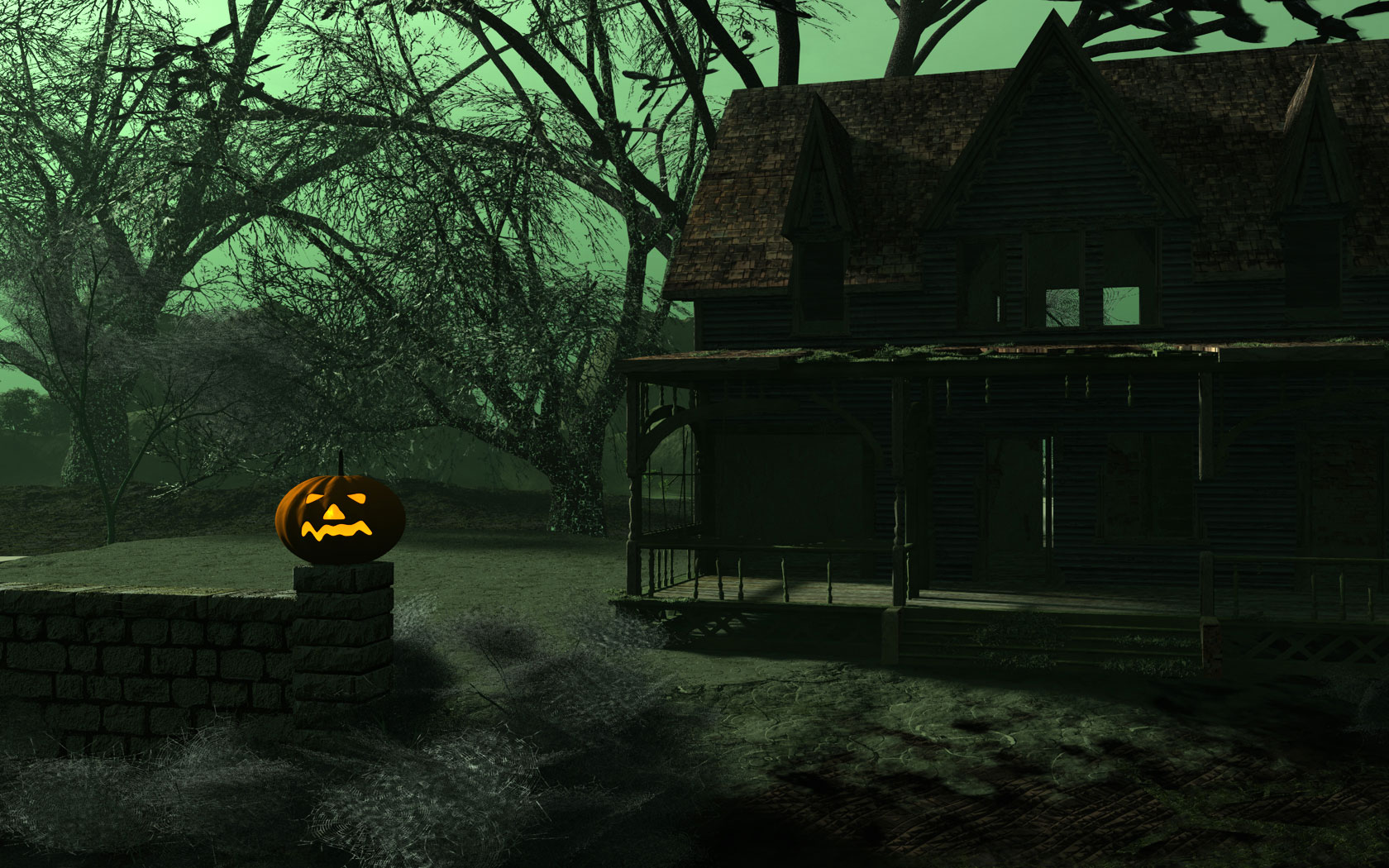 Halloween Home 499.23 Kb