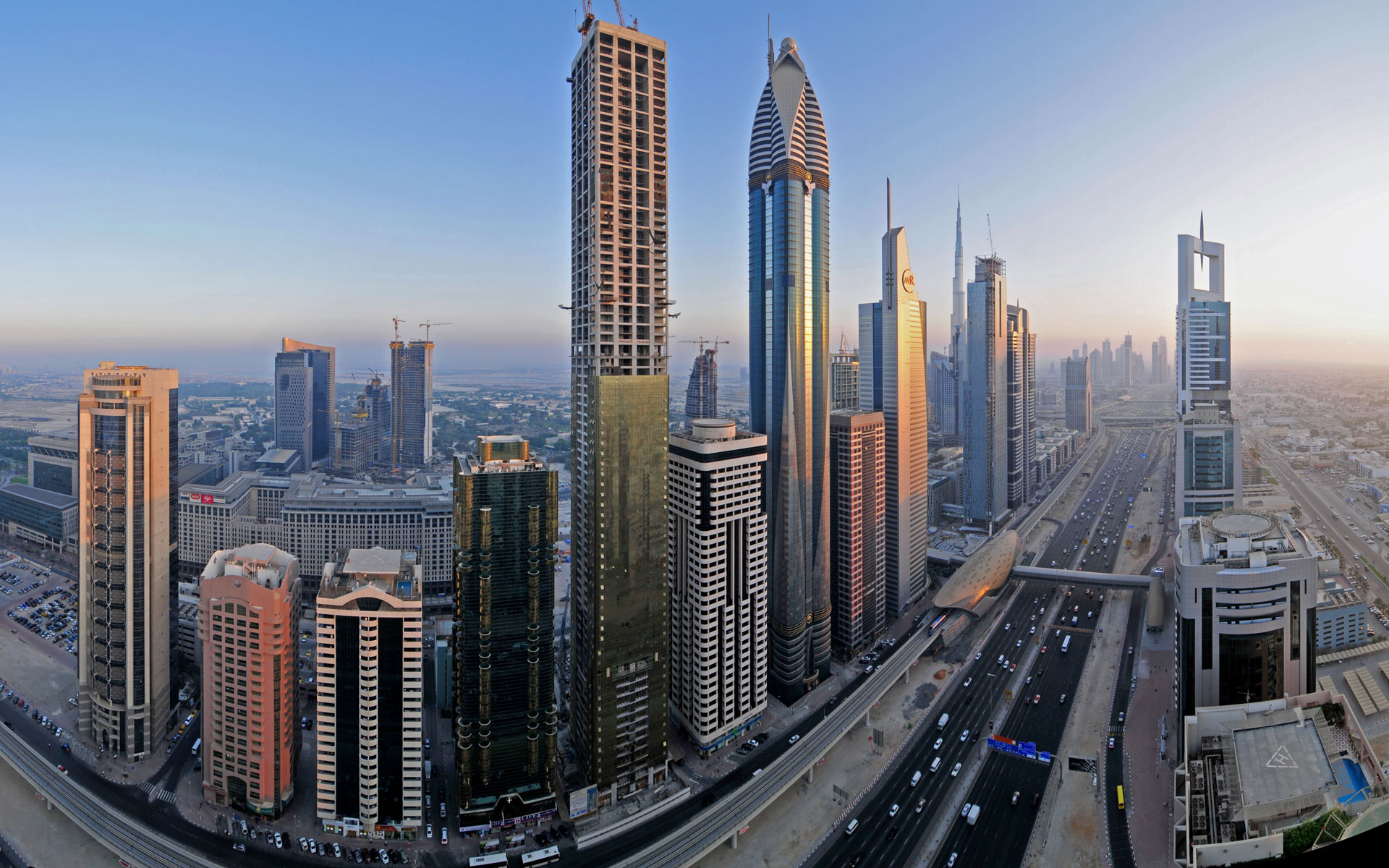 Downtown Dubai Widescreen