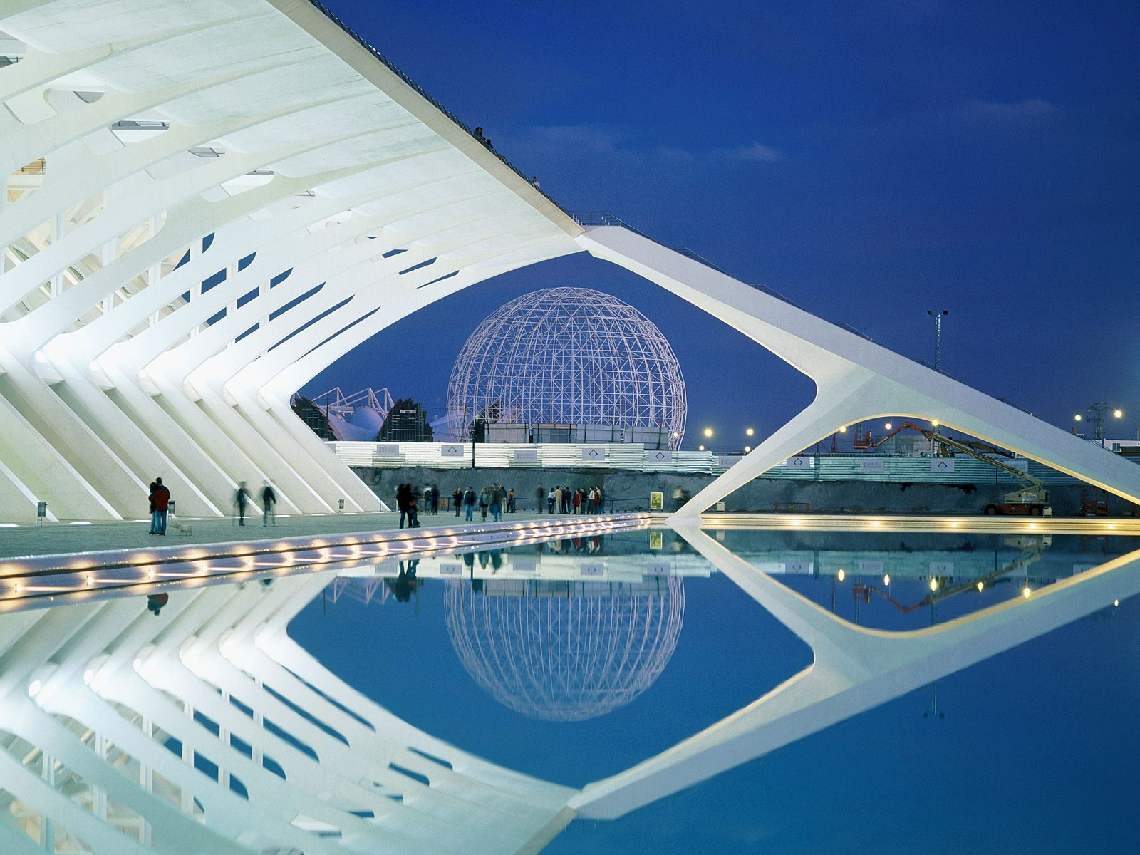 City of Arts and Sciences Spain 392.66 Kb