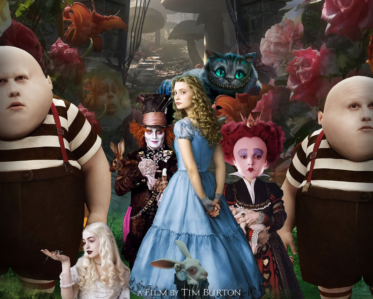 Alice in Wonderland Movie Poster 490.17 Kb