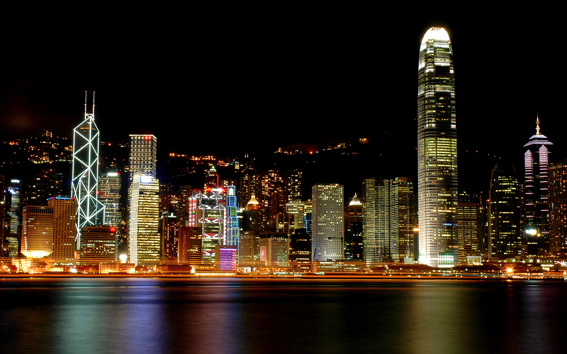 Hong Kong Victoria Harbour 348.23 Kb