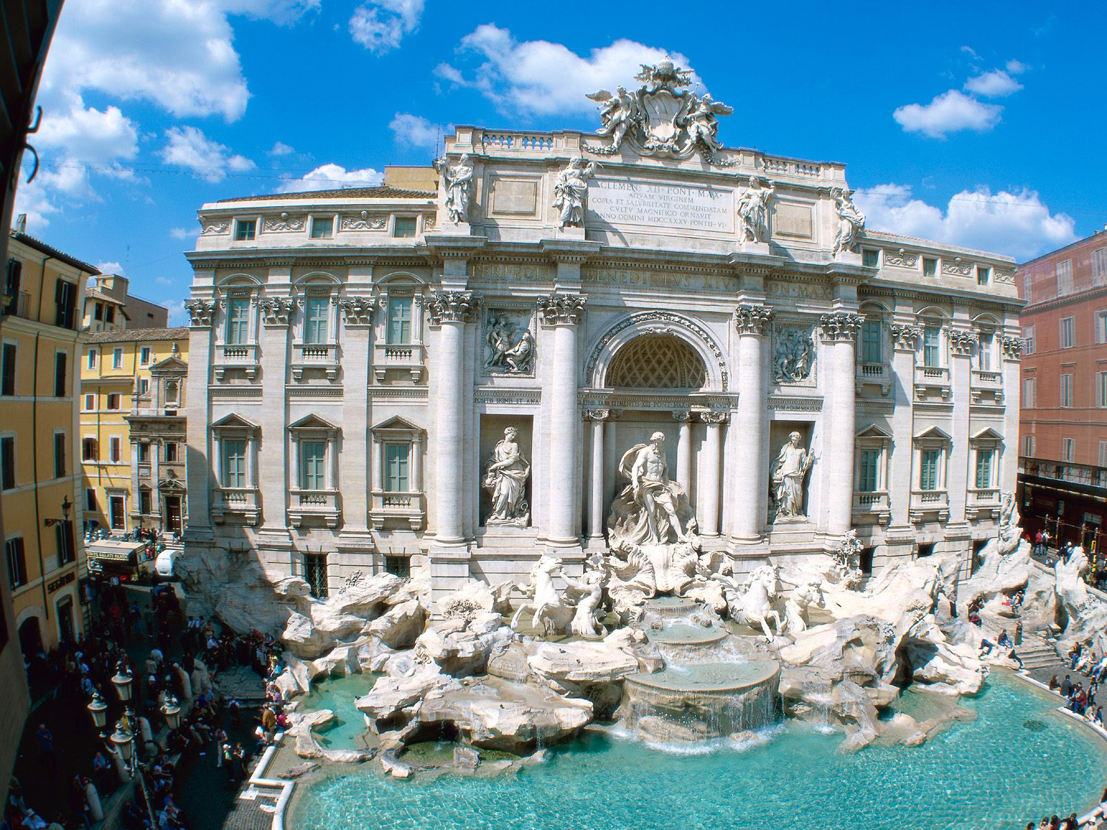 Trevi Fountain Rome Italy 461.54 Kb