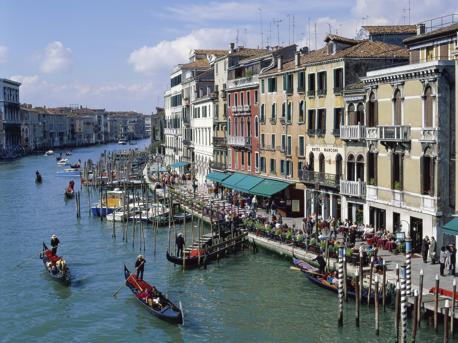 The Grand Canal of Venice Italy 904.29 Kb