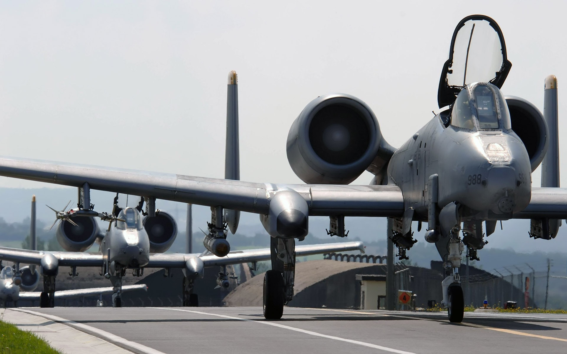 A 10 Thunderbolt II Aircrafts 168.59 Kb