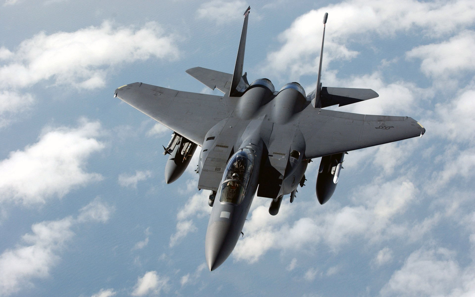 F 15E Strike Eagle Dual Role Fighter