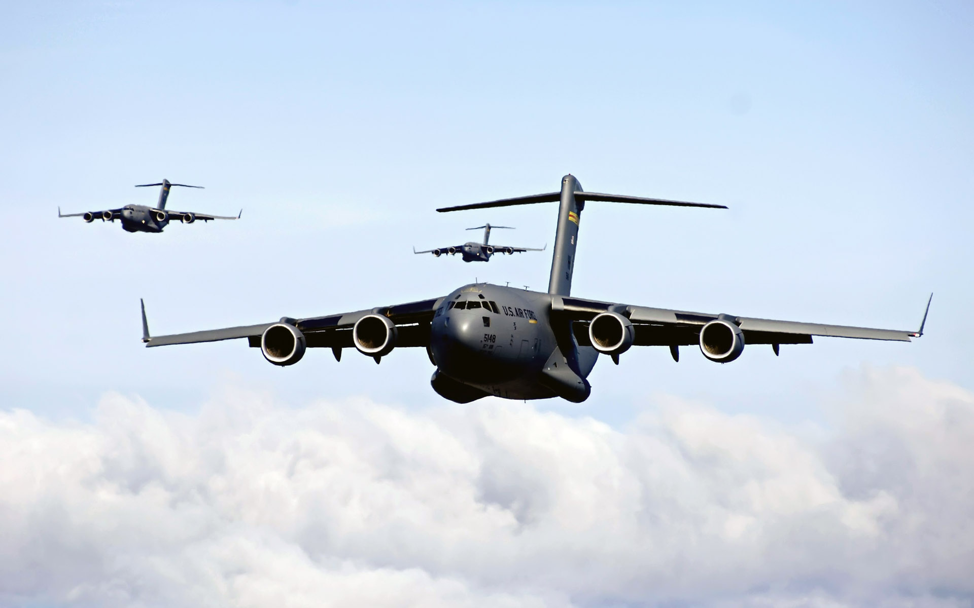 C 17 Globemaster IIIs Intra theater Heavy Airlift Support