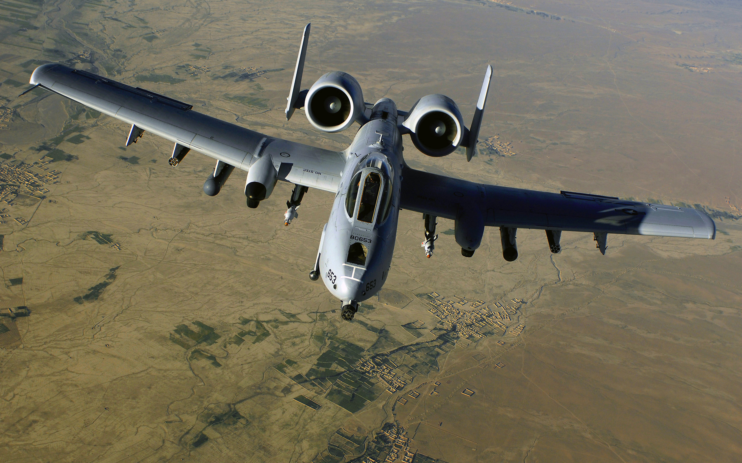 A 10 Thunderbolt II Air Support