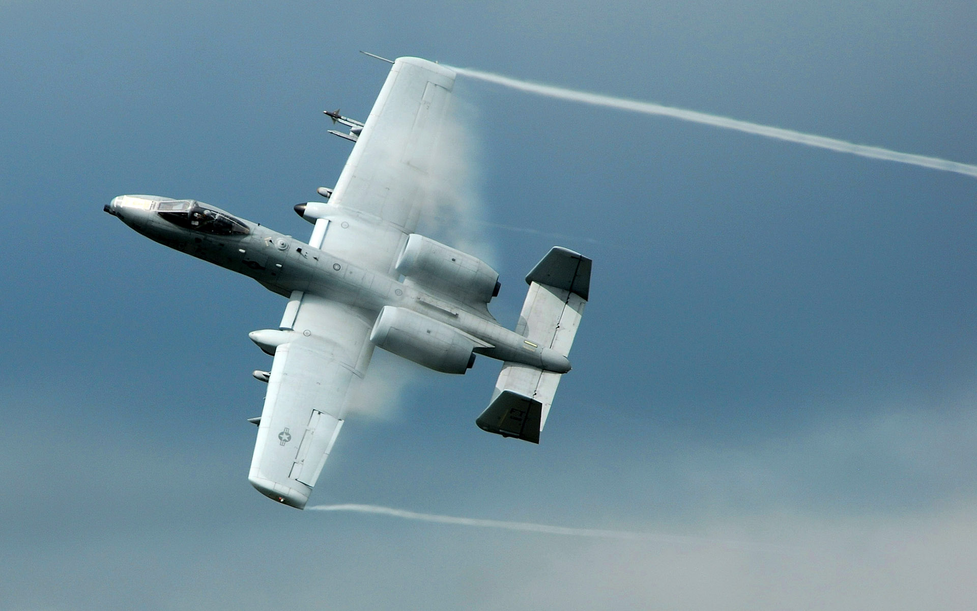 A 10 Thunderbolt II ground attack aircraft 553.91 Kb