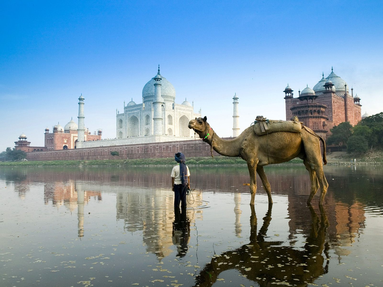 Yamuna River Agra India 375.76 Kb