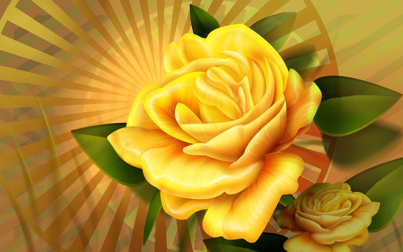 Yellow Rose 225.34 Kb