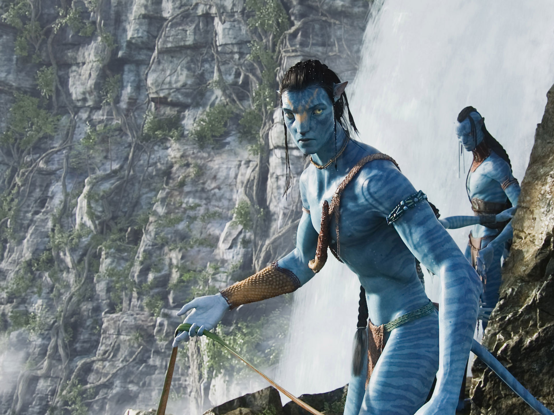 Jake Sully in Avatar Movie