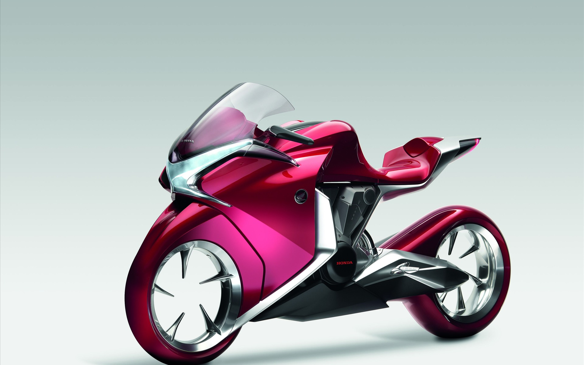 Honda V4 Concept Widescreen Bike 109.53 Kb