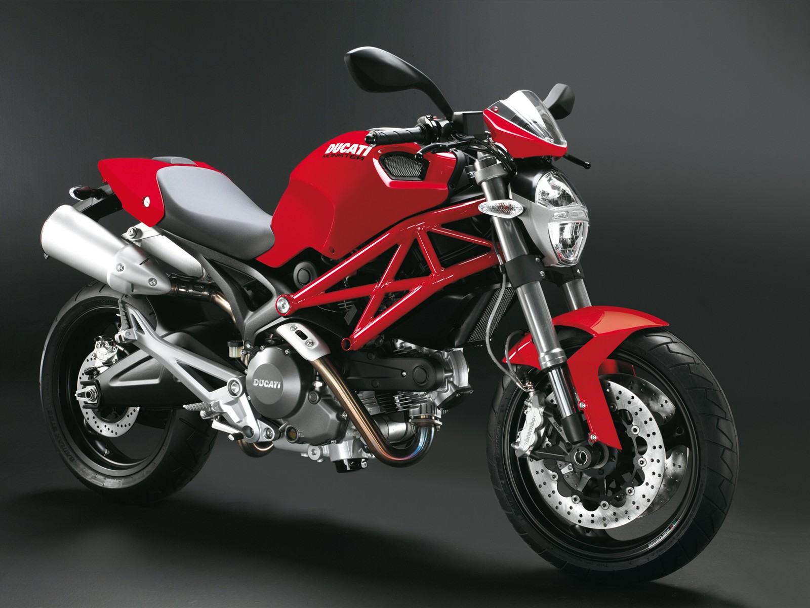 Ducati Monster 696 Red