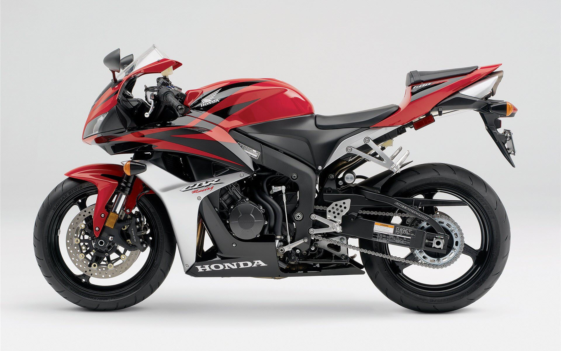 Honda CBR 600RR Red 205.52 Kb