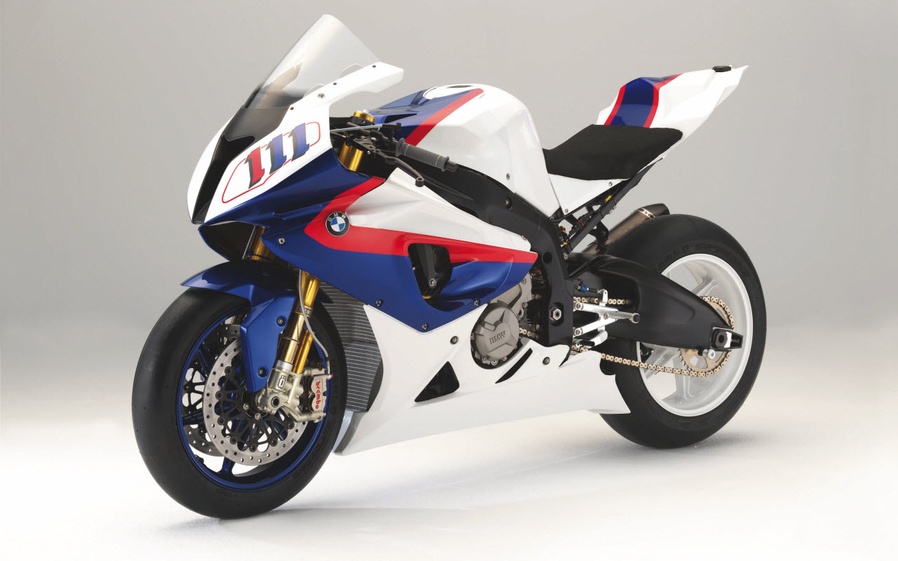The BMW S 1000 RR Race Bike