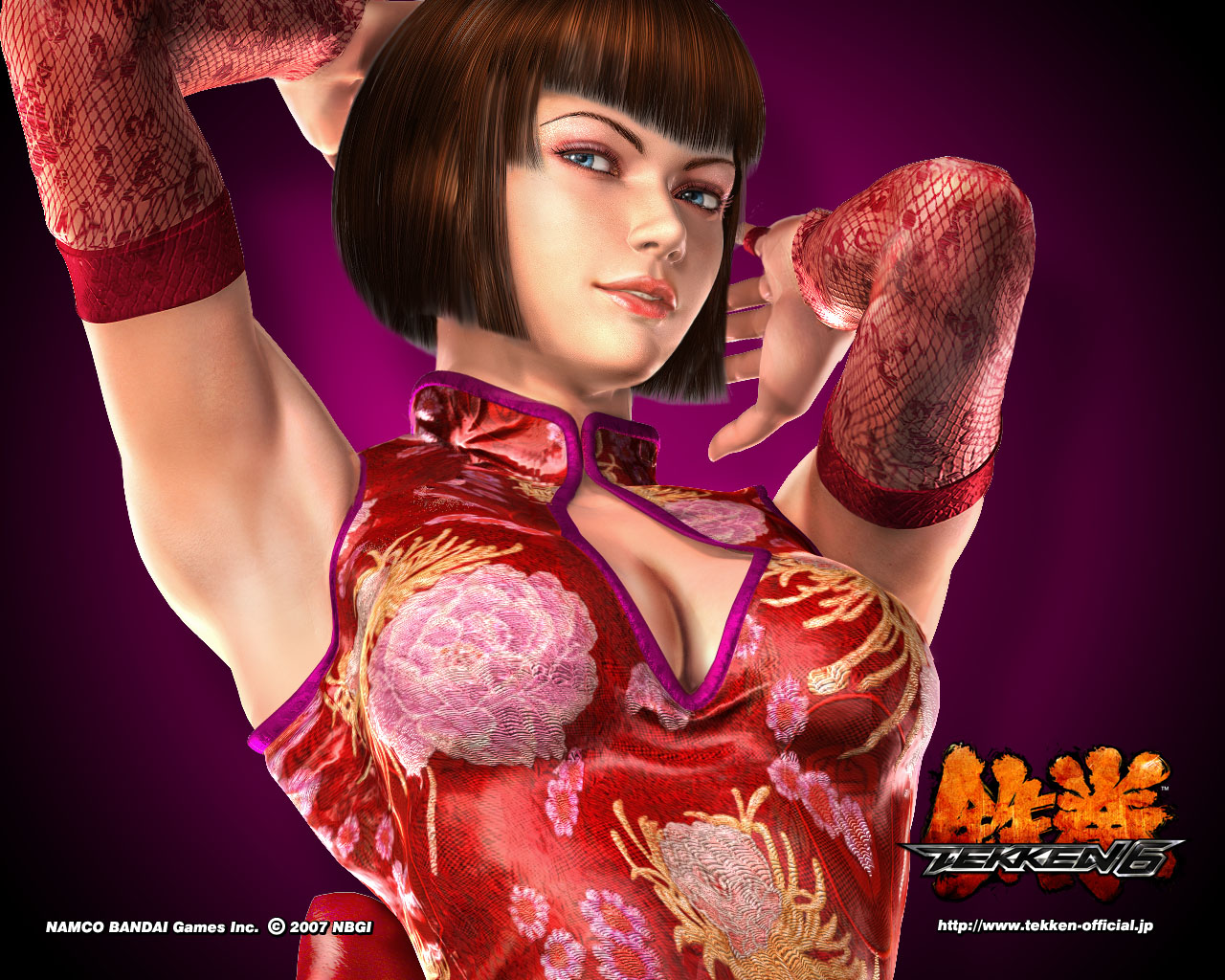 Anna Williams Tekken 6 554.74 Kb