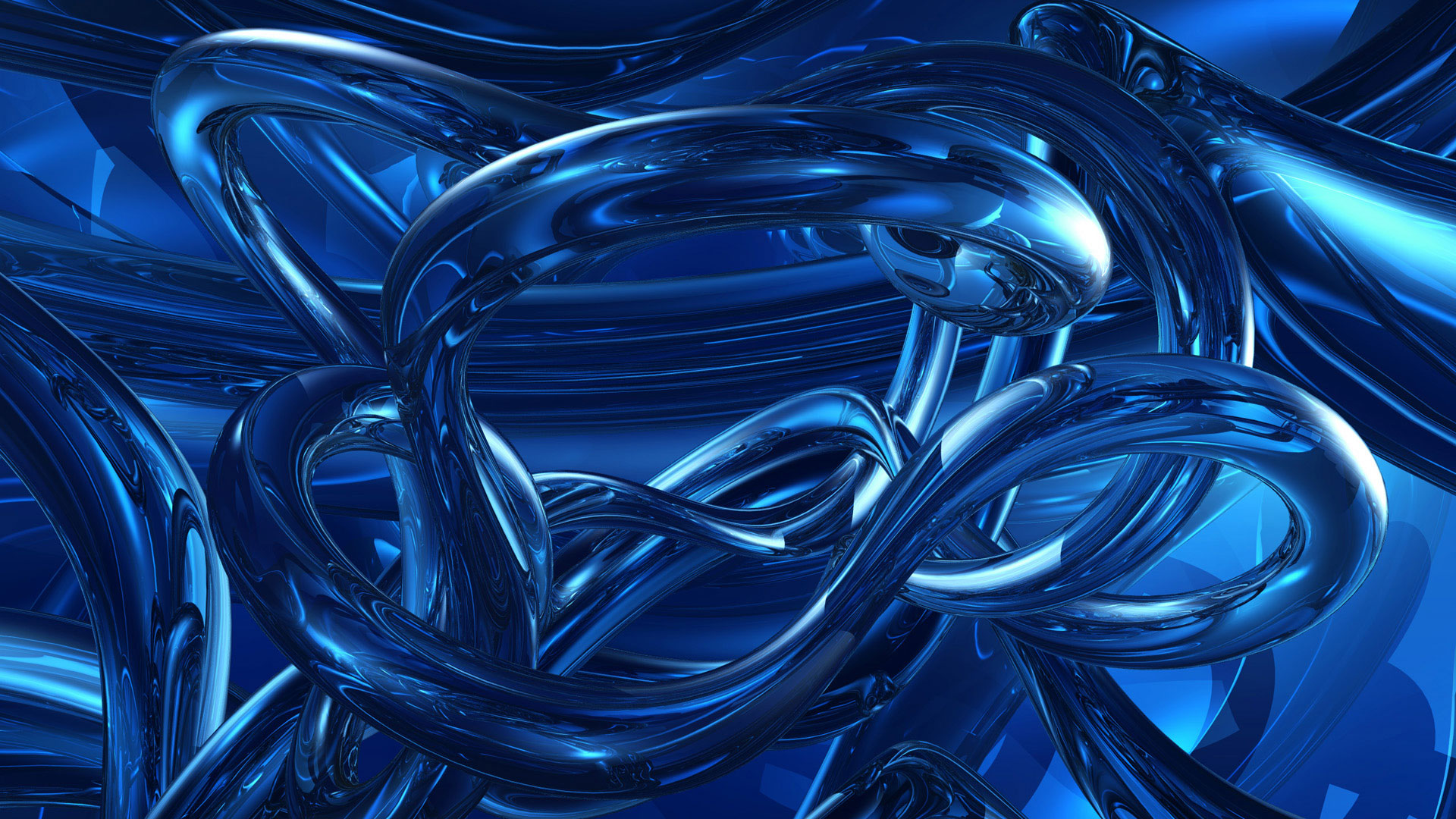 Dark Blue Abstracts