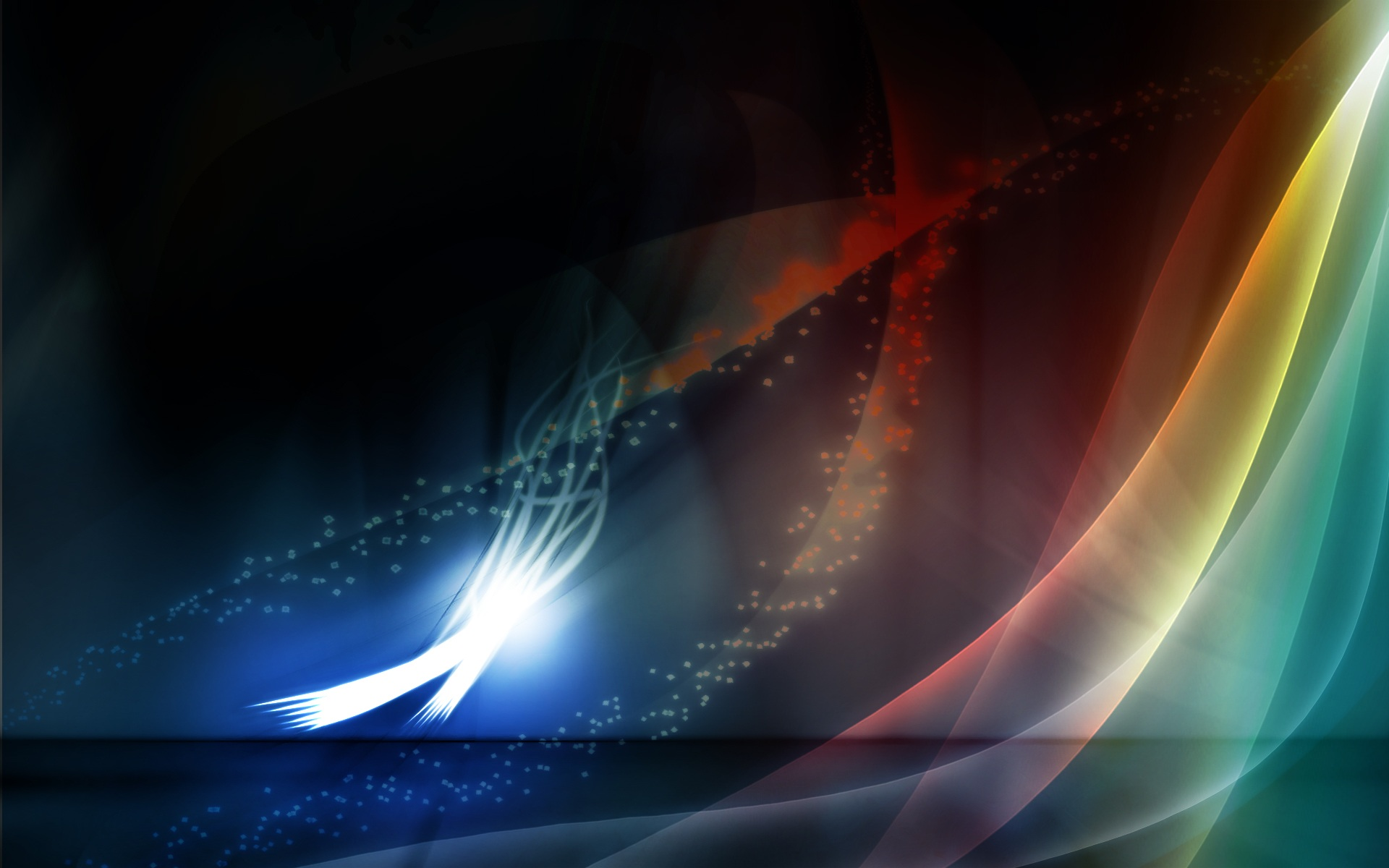 Widescreen Abstract