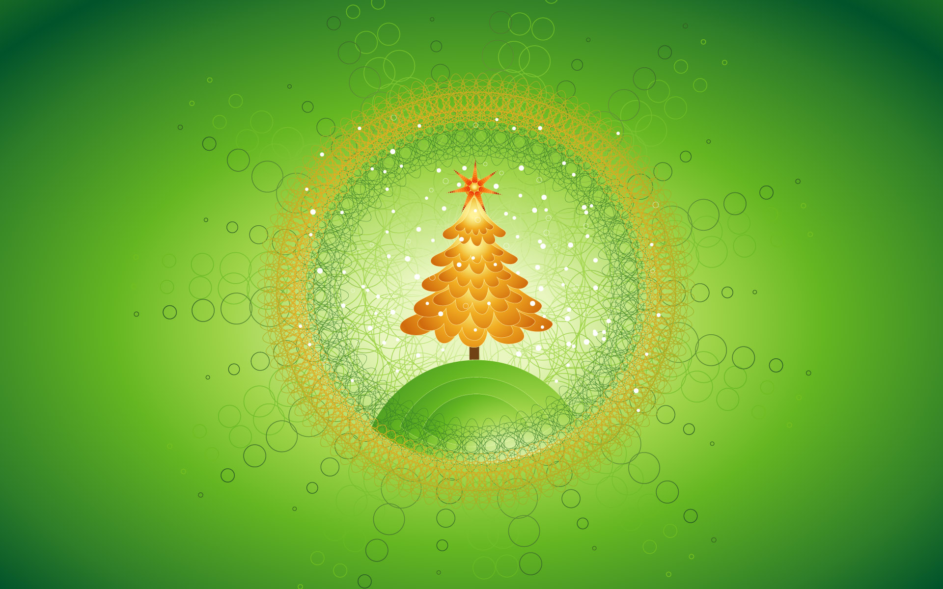 Beautiful Christmas Tree Design 295.34 Kb