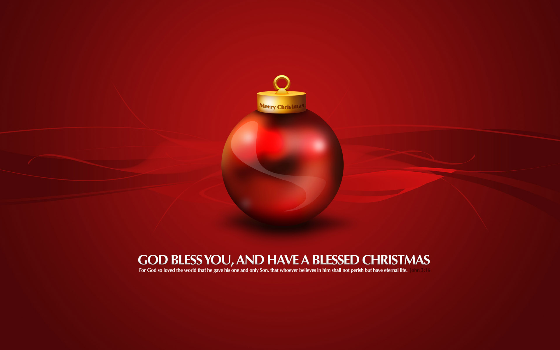 God Bless You Merry Chirstmas