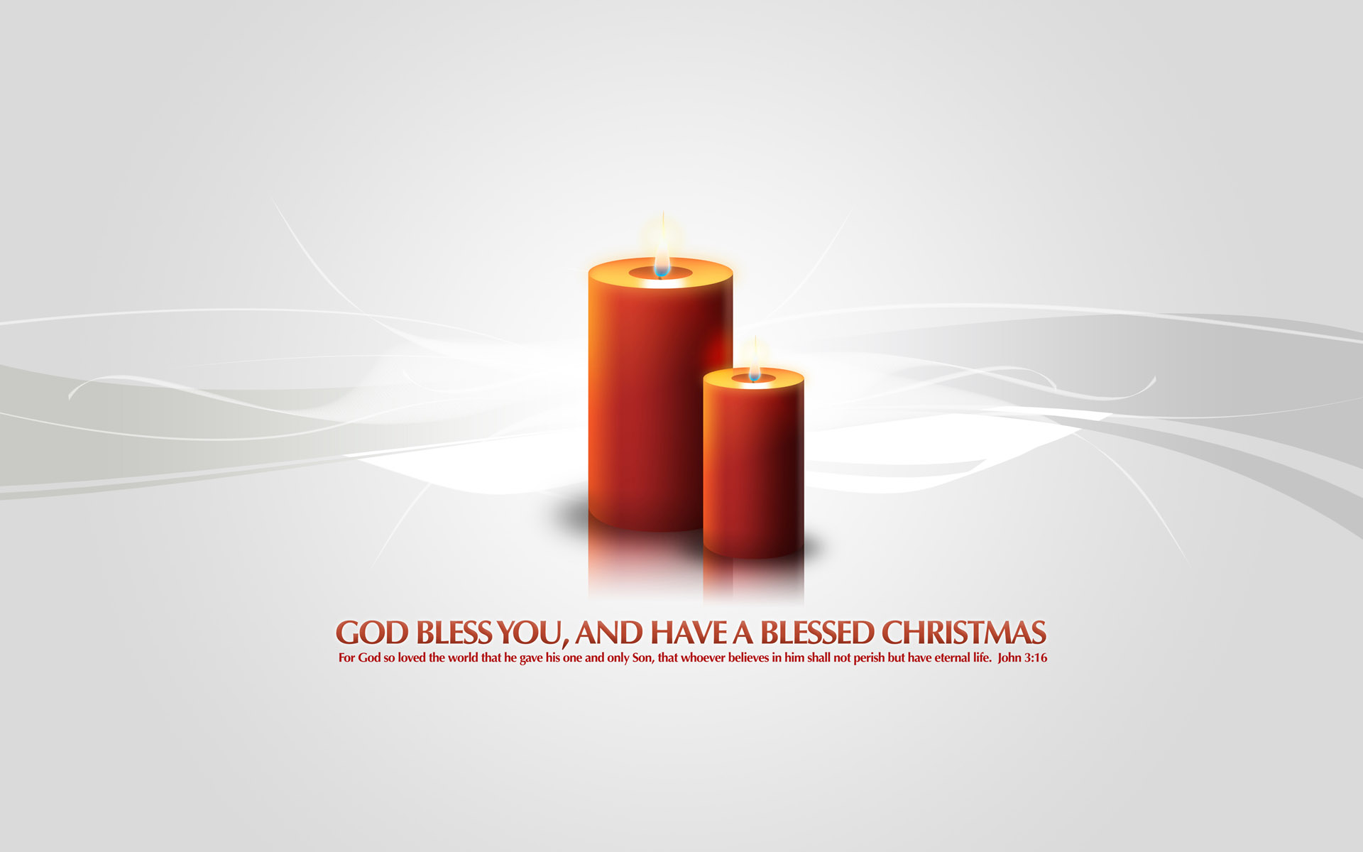 God Bless You Christmas Candles 189.19 Kb