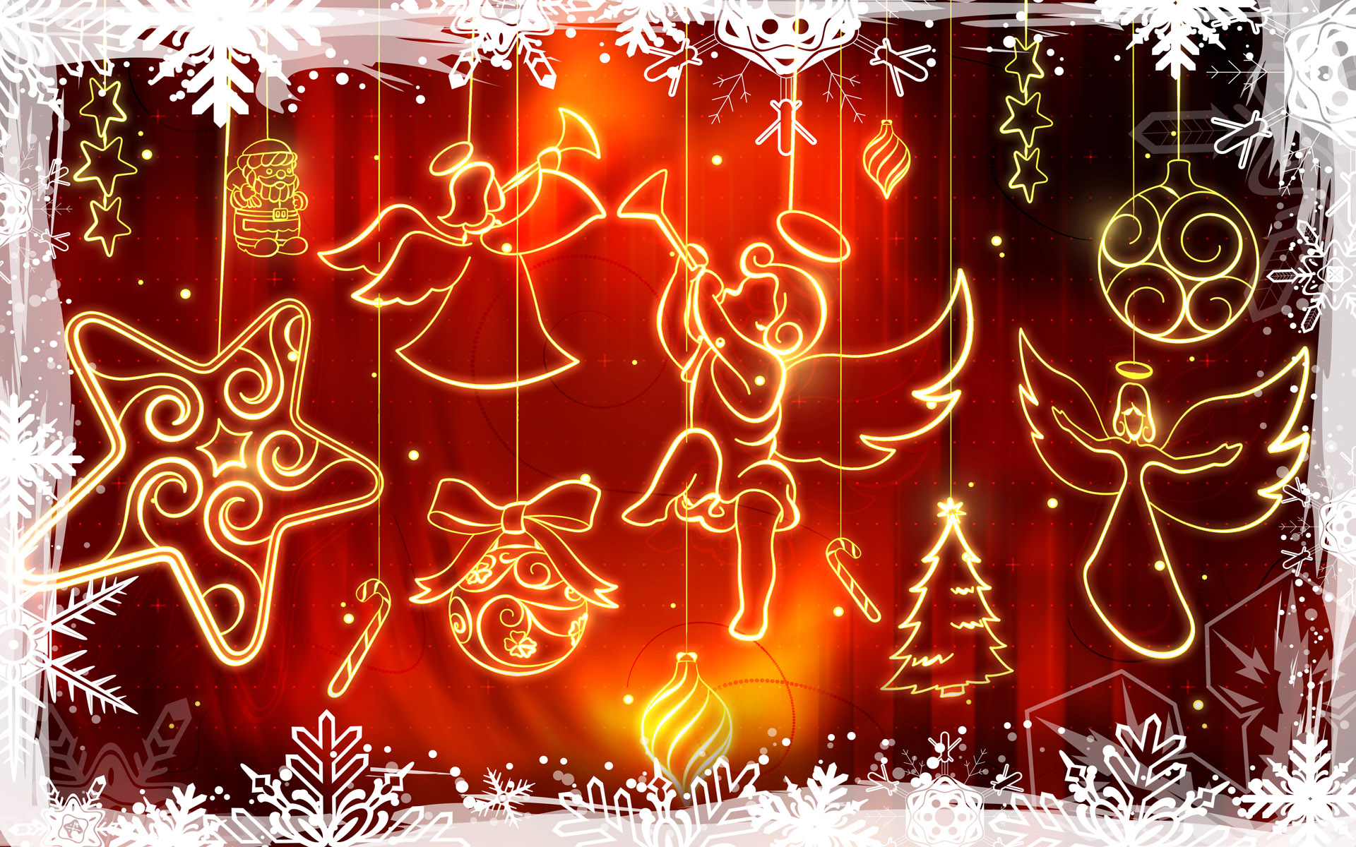 Christmas Widescreen Decoration