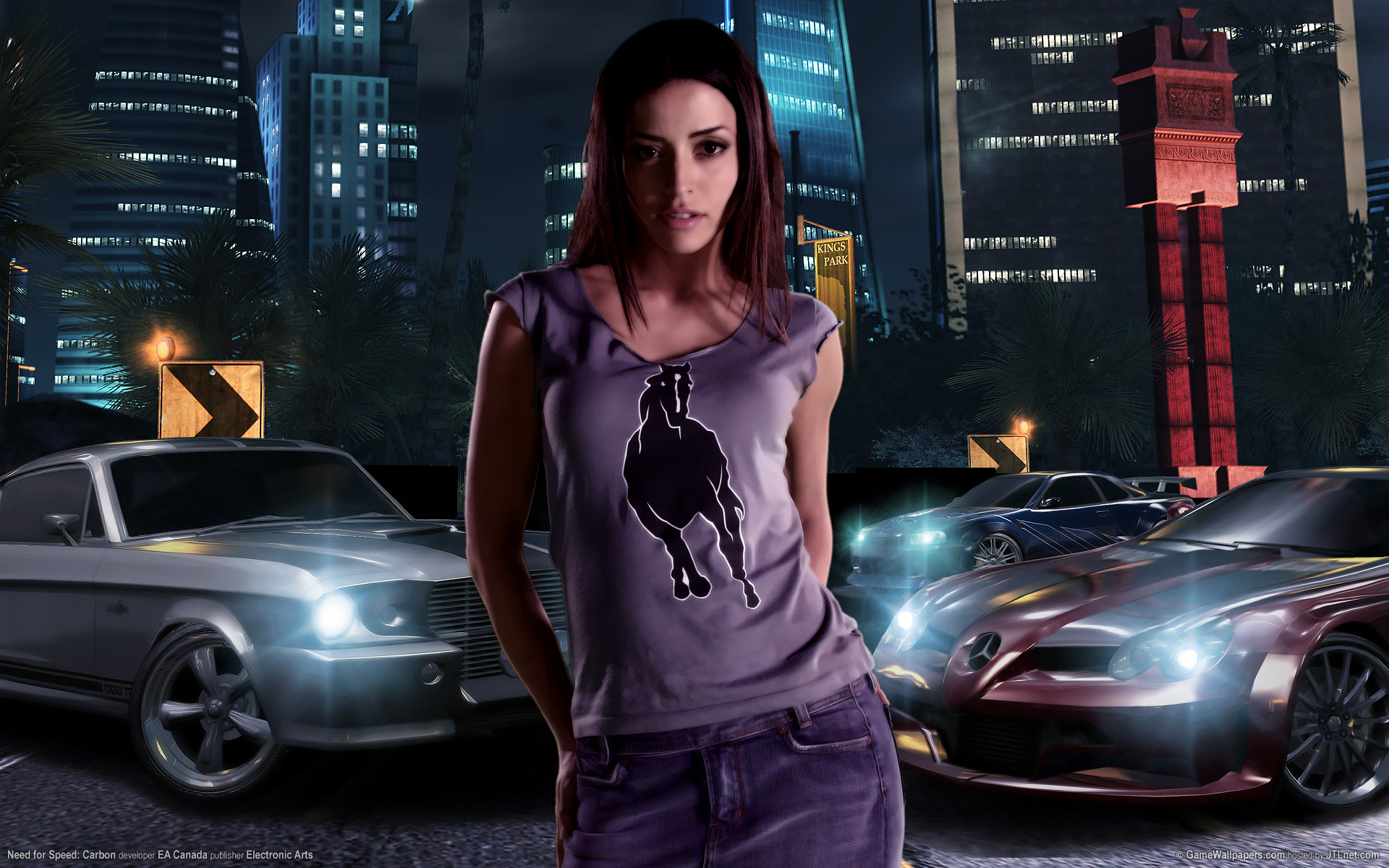 Need for speed carbon Girl 2 232.21 Kb