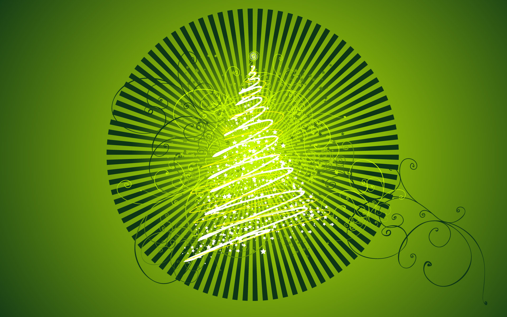 Vector Chirstmas Tree Design 439.19 Kb