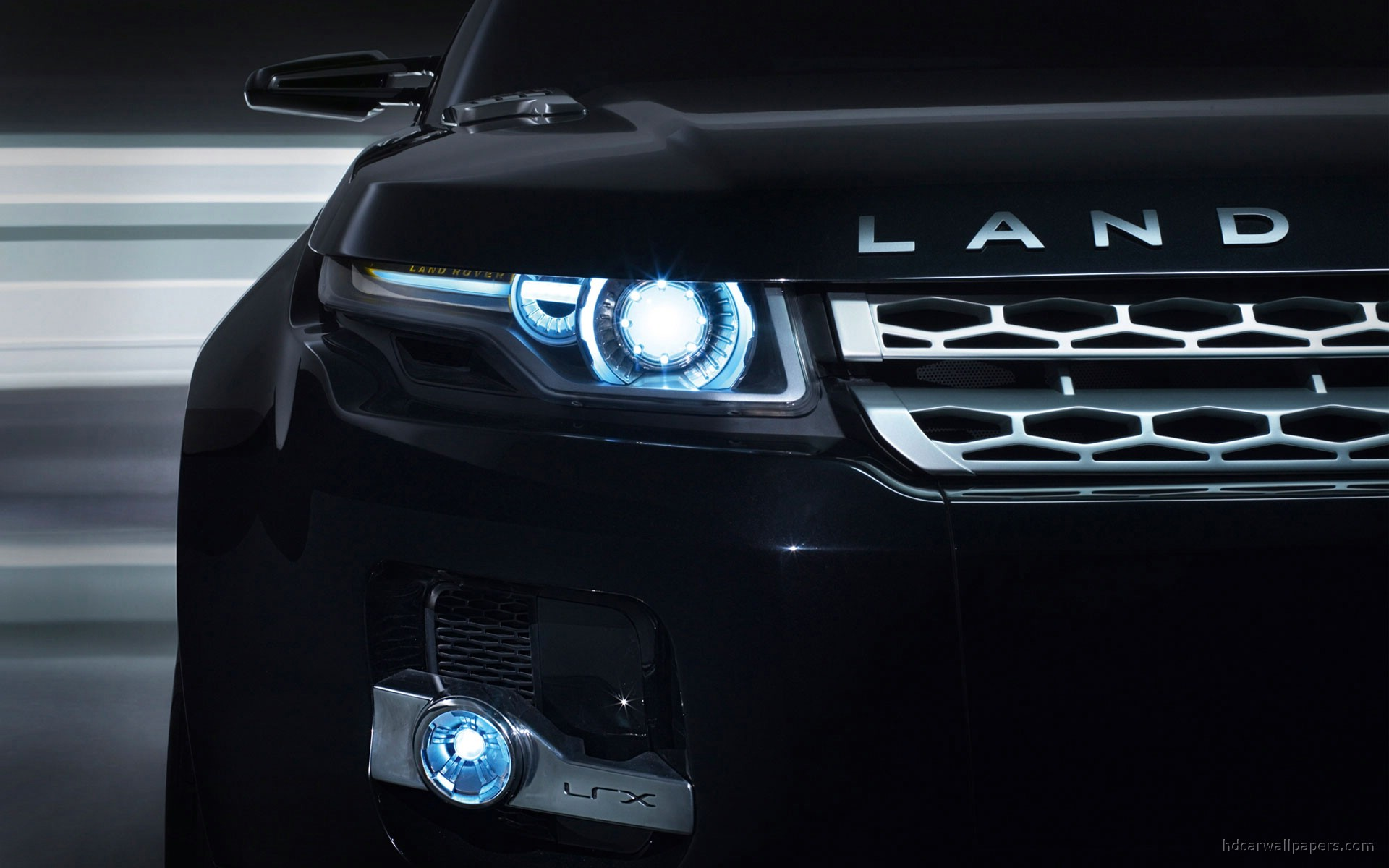 Land Rover LRX Concept Black 8 151.55 Kb