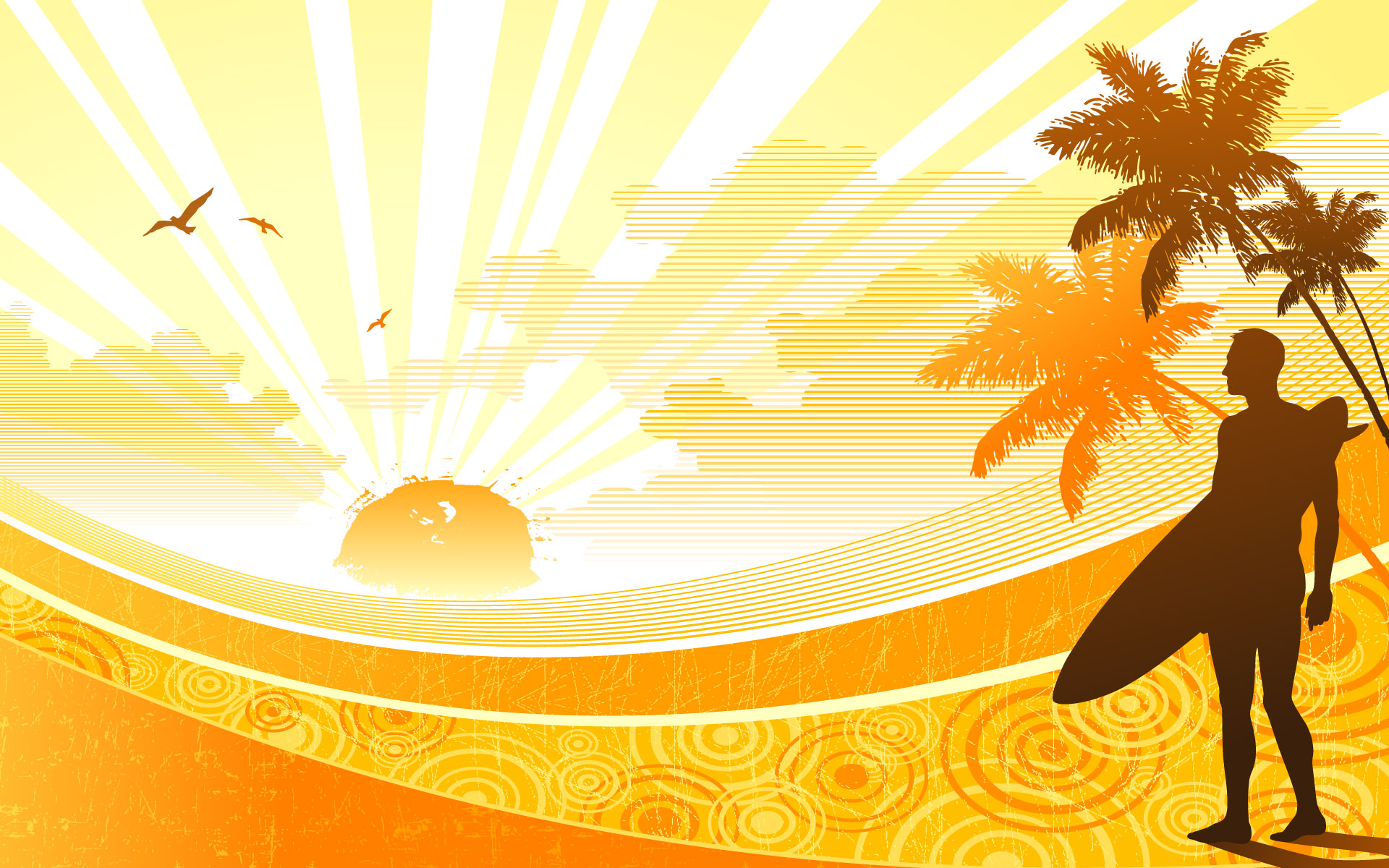 Sunshine Widescreen Vector 1478.11 Kb